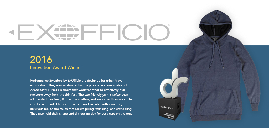 Exoficcio, 2016 Innovation Award Winner